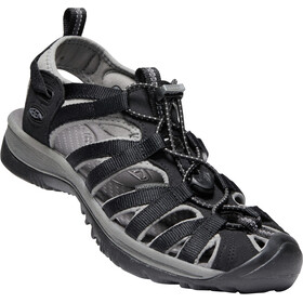 Keen Whisper Sandals Dame black/gargoyle